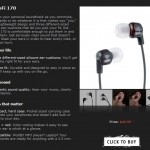 Ultimate Ears by Logitech Metro-Fi 170