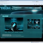 Monster Cable TRON Microsite - Wallpaper Page