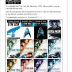 Star Trek Movie Sale